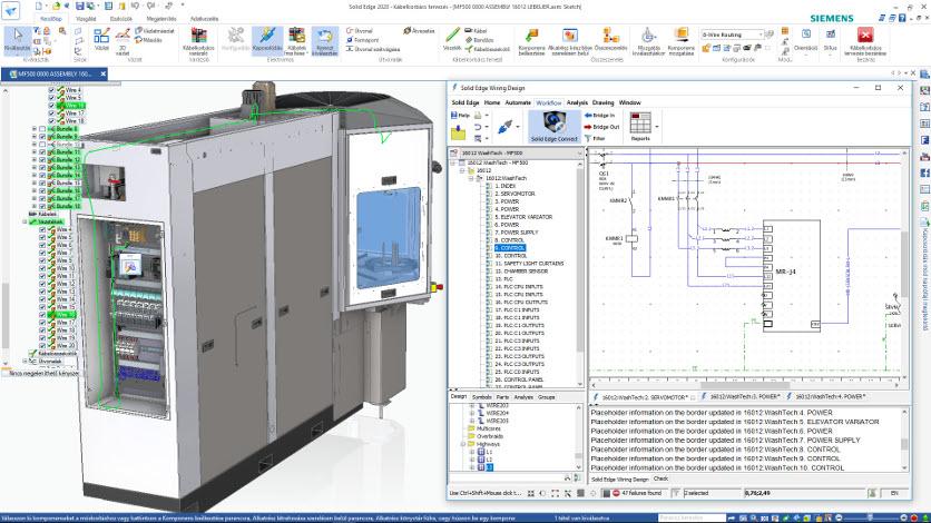 Solid Edge 2020 – Mechanikai és elektromos tervezés