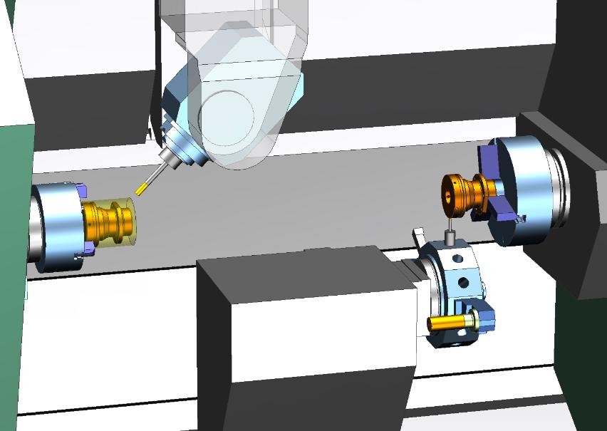 NX CAM - szerszámgép-szimuláció